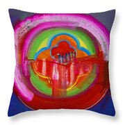 American Evangelical Throw Pillow