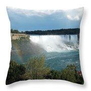 American Falls 1 Throw Pillow