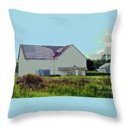 American Farm Throw Pillow
