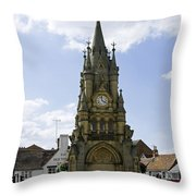 American Fountain - Stratford-upon-avon Throw Pillow