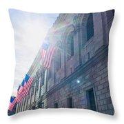 American Grace Throw Pillow