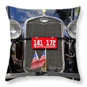 American Grill Throw Pillow