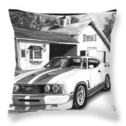 American Heartland Throw Pillow
