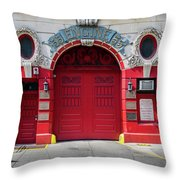 American Heroes Throw Pillow