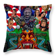American Horror Story Freak Show Throw Pillow