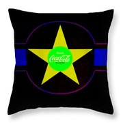 American Image Throw Pillow