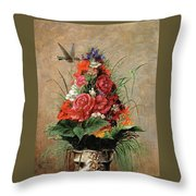 American Impressionist Painter Throw Pillow