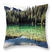 American Lake Throw Pillow