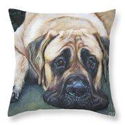 American Mastiff Throw Pillow
