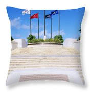 American Memorial Park Throw Pillow