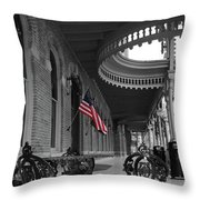 American Past Throw Pillow