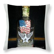 American Pendleton Commemorative Bottle Throw Pillow