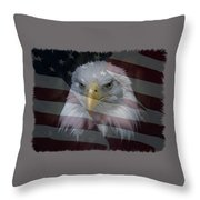 American Pride 2 Throw Pillow