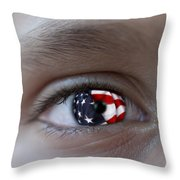 American Proud - Stars And Stripes Forever Throw Pillow