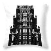 American Radiator Building Throw Pillow