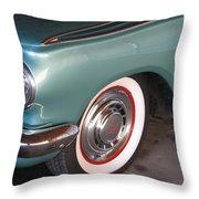 American Rambler Throw Pillow
