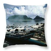 American Samoa Throw Pillow