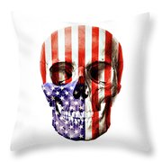 American Slull Throw Pillow