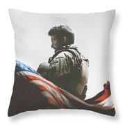 American Sniper 2014 Throw Pillow
