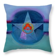 American Spiritual Throw Pillow