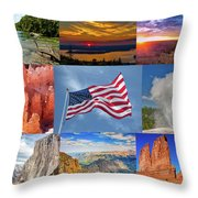 American Splendor Throw Pillow