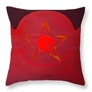 American Sun Throw Pillow