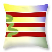 American Tears Throw Pillow