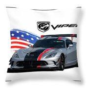 American Venom Throw Pillow