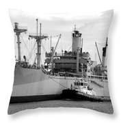 American Victory Coming Home Throw Pillow