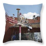 American Visionary Art Museum In Baltimore Throw Pillow