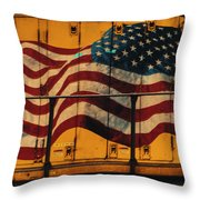 American Workhorse Throw Pillow