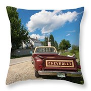 Americana - 001 Throw Pillow