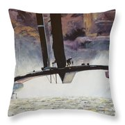 America's Cup 2013 Series II Throw Pillow
