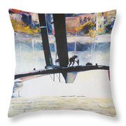 America's Cup 2013 Series IIi Throw Pillow