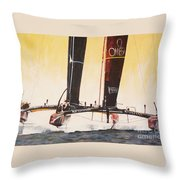 America's Cup 2013 Series V Throw Pillow