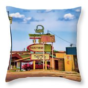 America's Mainstreet Throw Pillow