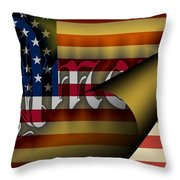 Americas New Design 2009 Throw Pillow