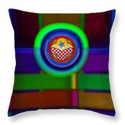 Amerikamura Twilight Throw Pillow