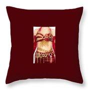 Ameynra Design - Belly Dance Costume - By Sofia Goldberg Throw Pillow