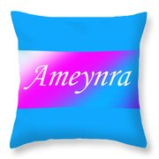 Ameynra - Logo 003 Throw Pillow
