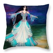 Ameynra. Night Dance Before Wedding Throw Pillow