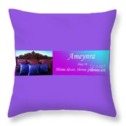 Ameynra Shop 19. Promo Banner 3 Throw Pillow