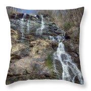 Amicolola Falls Throw Pillow