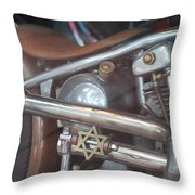 Ami's Bike Throw Pillow