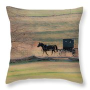 Amish Dream Throw Pillow