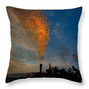 Amish Fireworks Throw Pillow