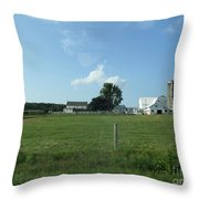 Amish Homestead 38 Throw Pillow