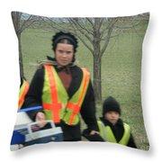 Amish Scholars Throw Pillow