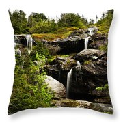 Ammonoosuc Falls Throw Pillow