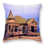 Amnesia Throw Pillow